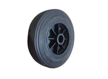 6 inch solid wheel